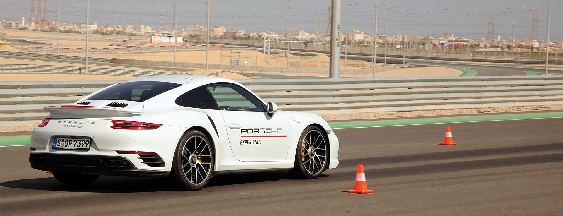 Porsche takes the racetrack in Kuwait.