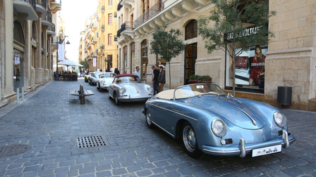 Porsche Classic Meets New Event – Downtown