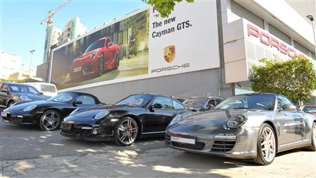 Porsche Test Drive Event in Collaboration With Bankmed around the E-Performance technology theme