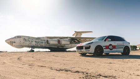 Porsche In Umm-Al-Quwain