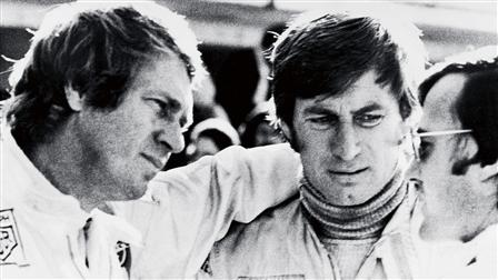 Porsche Steve McQueen (left), Siegfried Rauch (right)