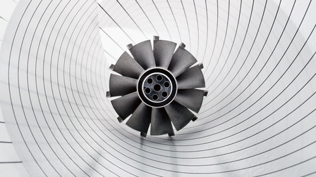 Turbine of the Porsche 919 Hybrid