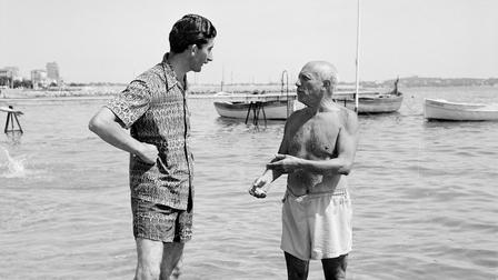 Porsche Pablo Picasso (r) and Edward Quinn (l)