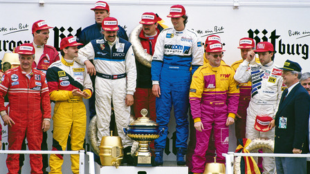 Award ceremony of the 24 Hours Nürburgring (1993)