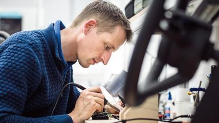 Porsche Jochen Leinberger, designer