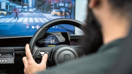 Porsche Virtual drive