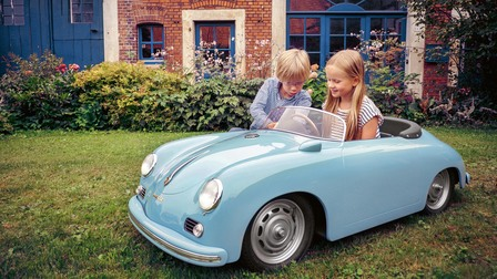 Miniature vehicle Porsche 356 Speedster