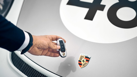 Porsche Car keys of the 911 Speedster