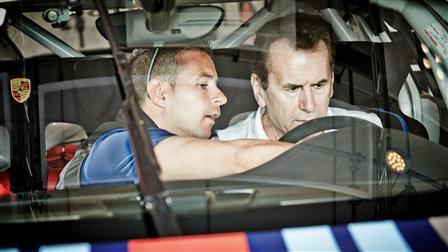 Porsche Manuel Lauck, Karlheinz Blessing
