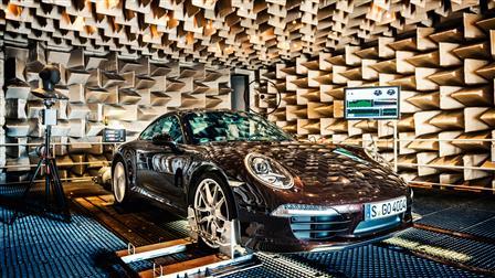 Porsche Acoustic Laboratory, 911