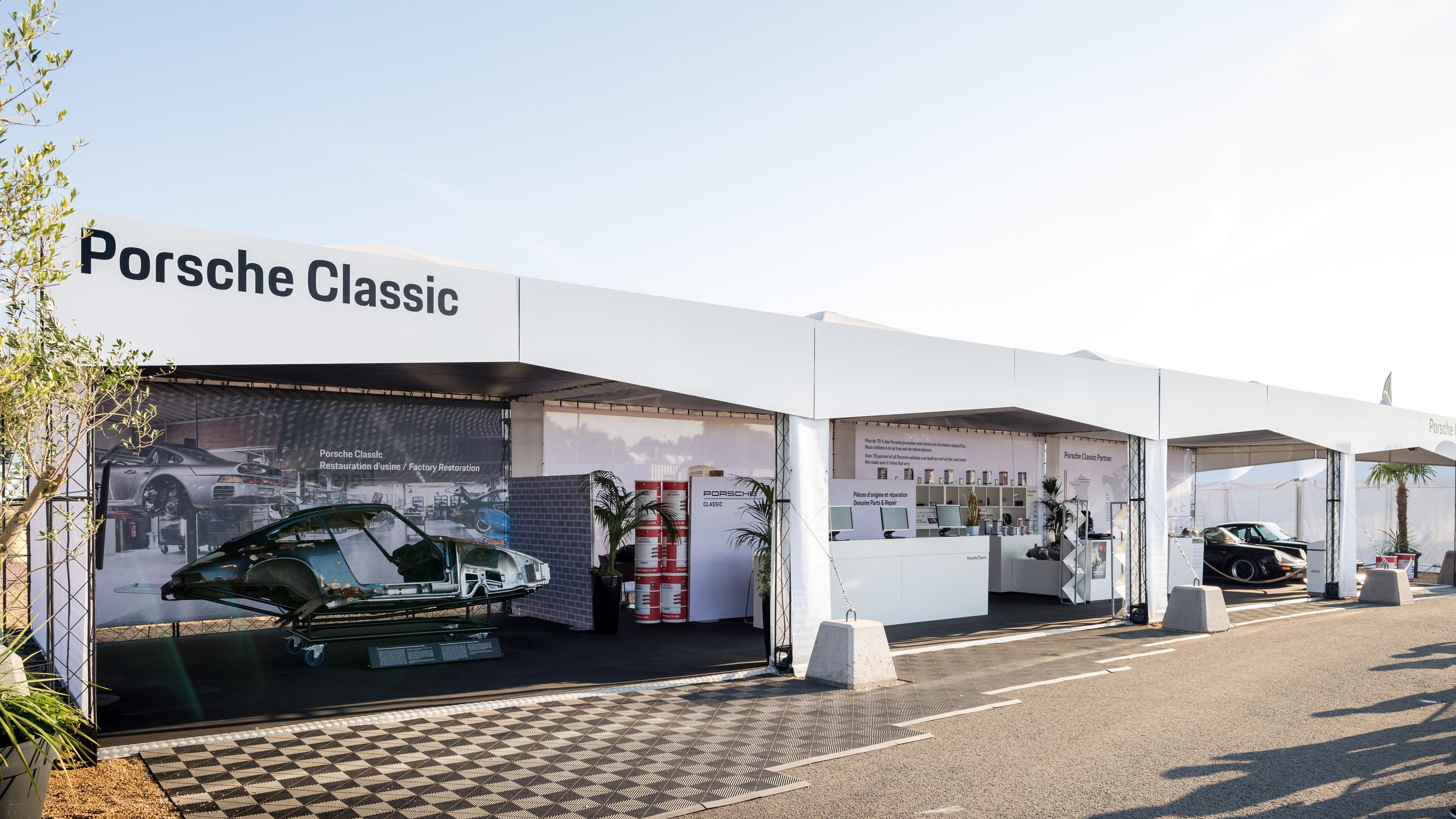 Porsche Le Mans Classic