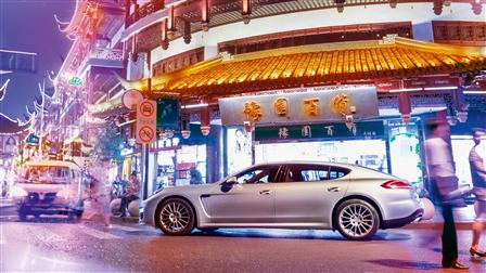 Panamera Turbo Executive, Shanghai