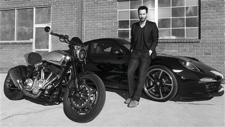 Keanu Reeves, 911 Carrera 4S