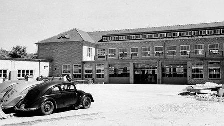Porsche 1938: Fertigstellung des Werk 1 im Juni 1938