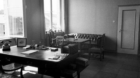 1938: Büro von Ferdinand Porsche im Werk 1