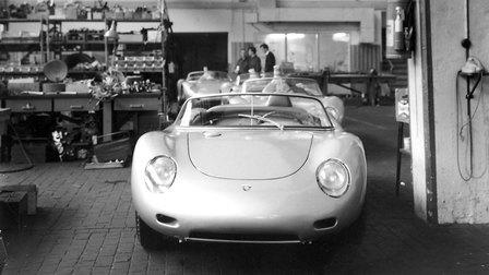 Porsche 1960: 718 RS 60 Spyder in der Rennabteilung