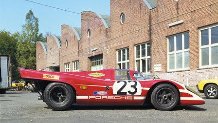 Porsche 1970: 917 KH Coupé 1970 im Werk 1 (Siegerfahrzeug in Le Mans 1970)