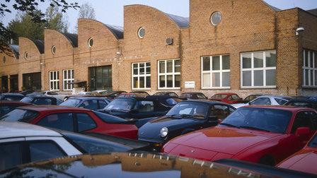 Porsche 1985: Werk 1 am 22.10.1985