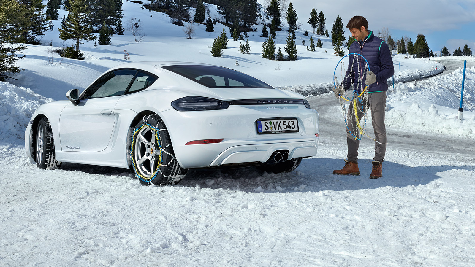 Porsche - Accessoires hiver