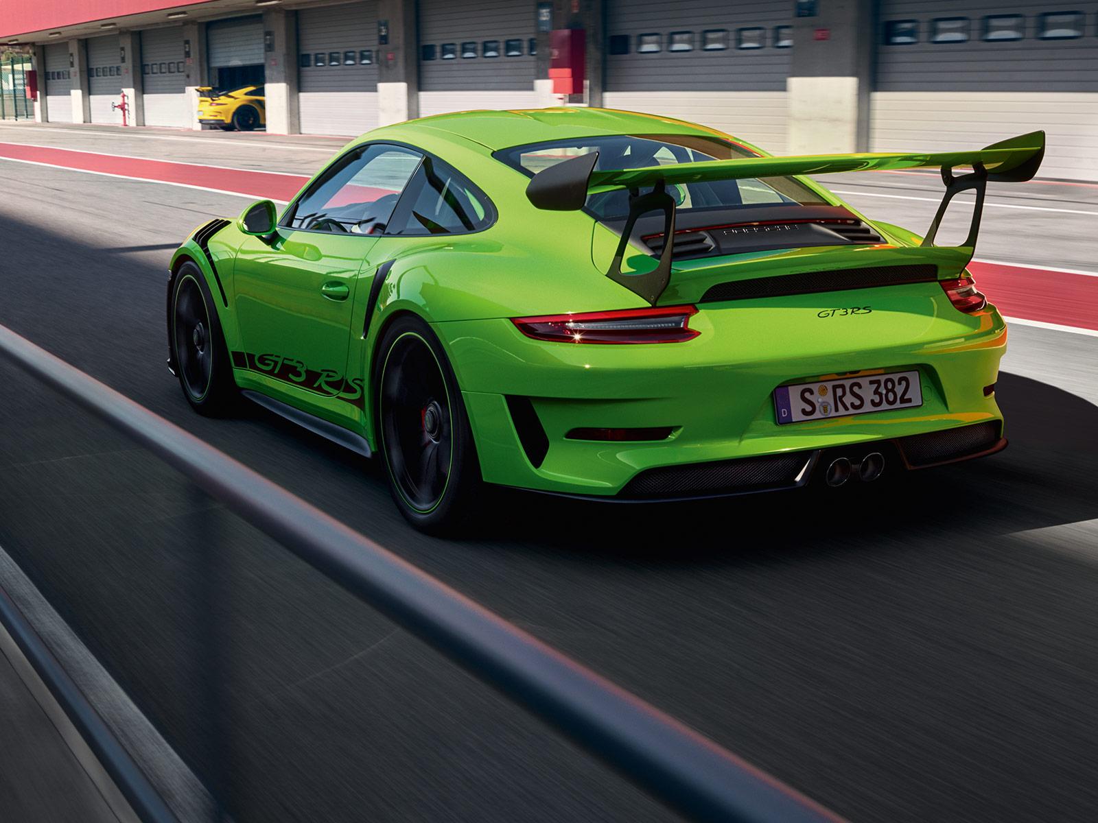 Porsche 911 Gt3 Rs Engine Porsche Middle East