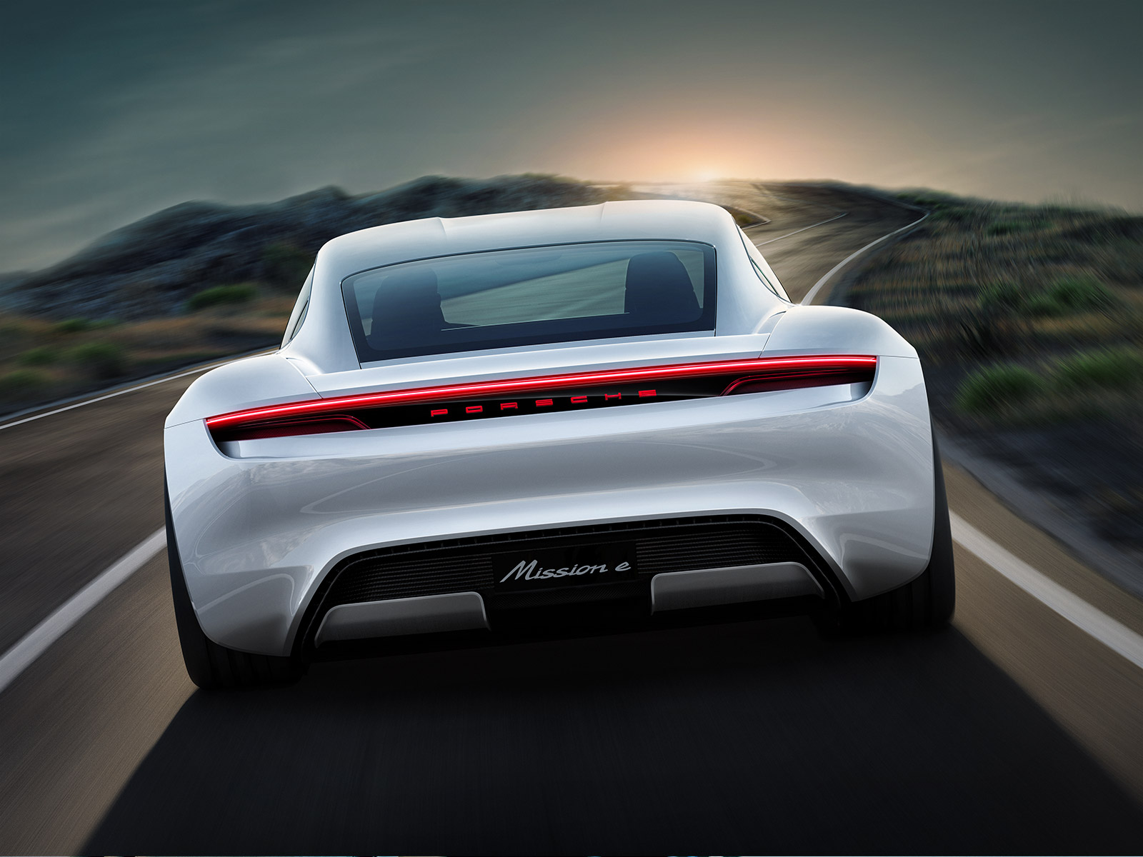 Porsche MISSION E – Shaping the future