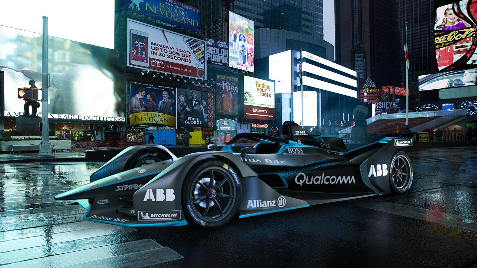 Porsche - Formula E Un championnat tout électrique : une première mondiale