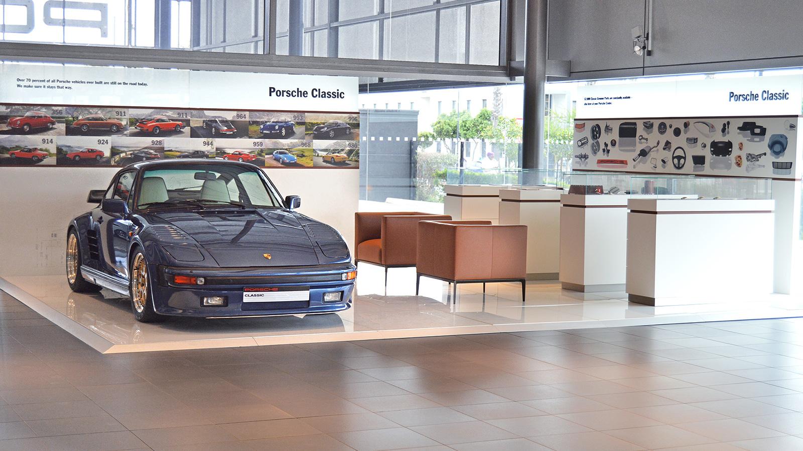 Porsche - Порше Центр Кейптаун