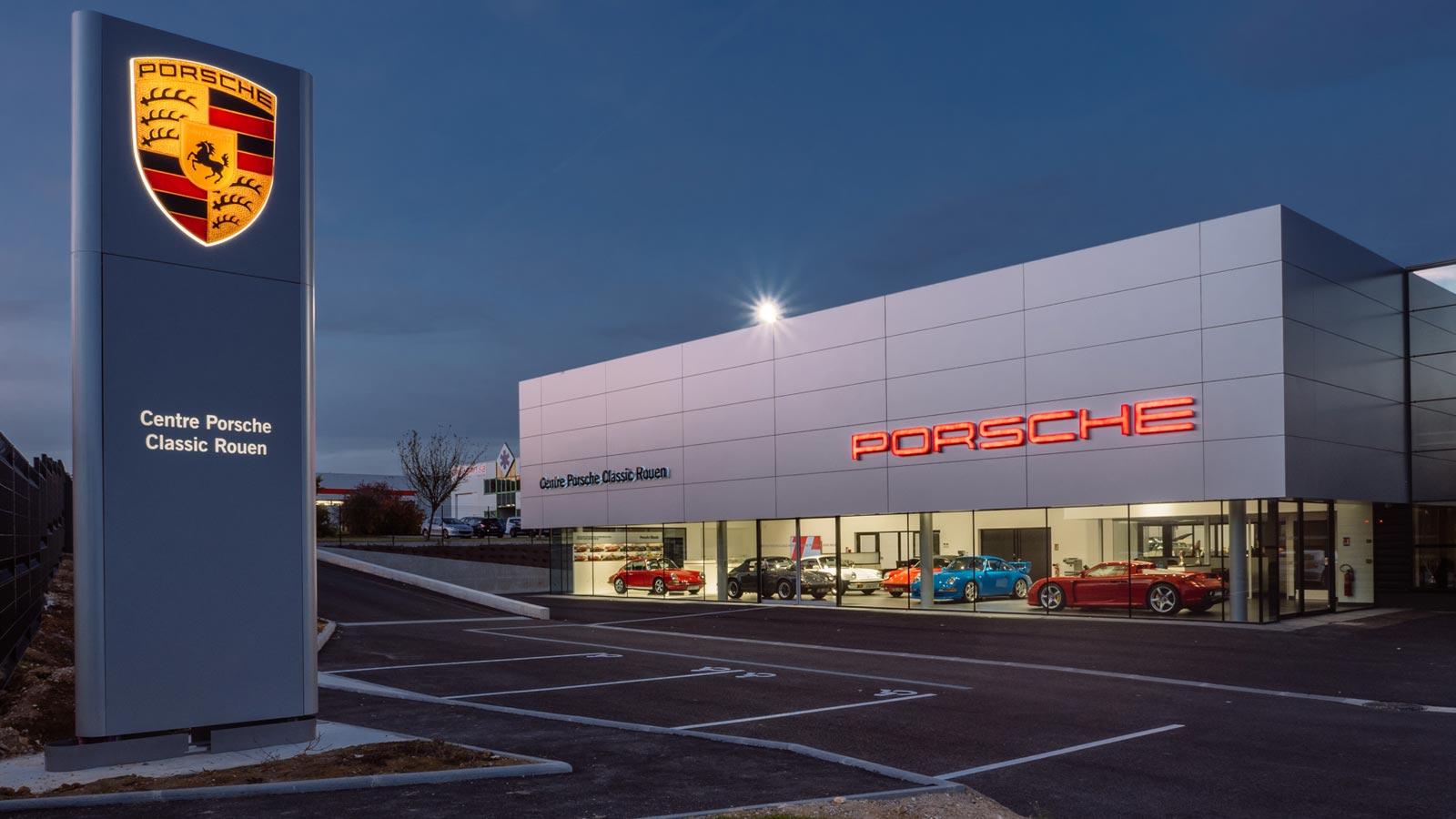 Porsche - Порше Классик Центр Руан