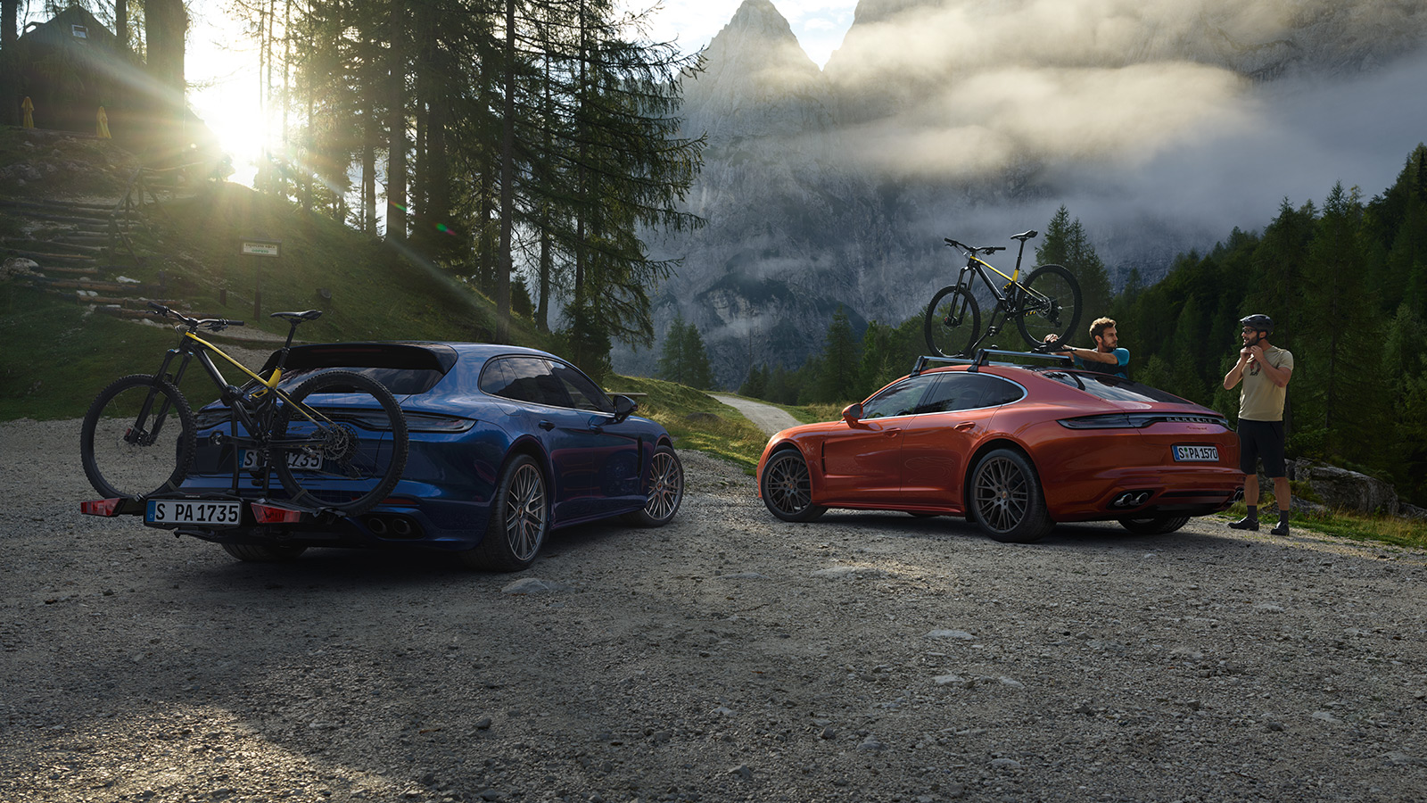 Porsche - Bicycle racks
