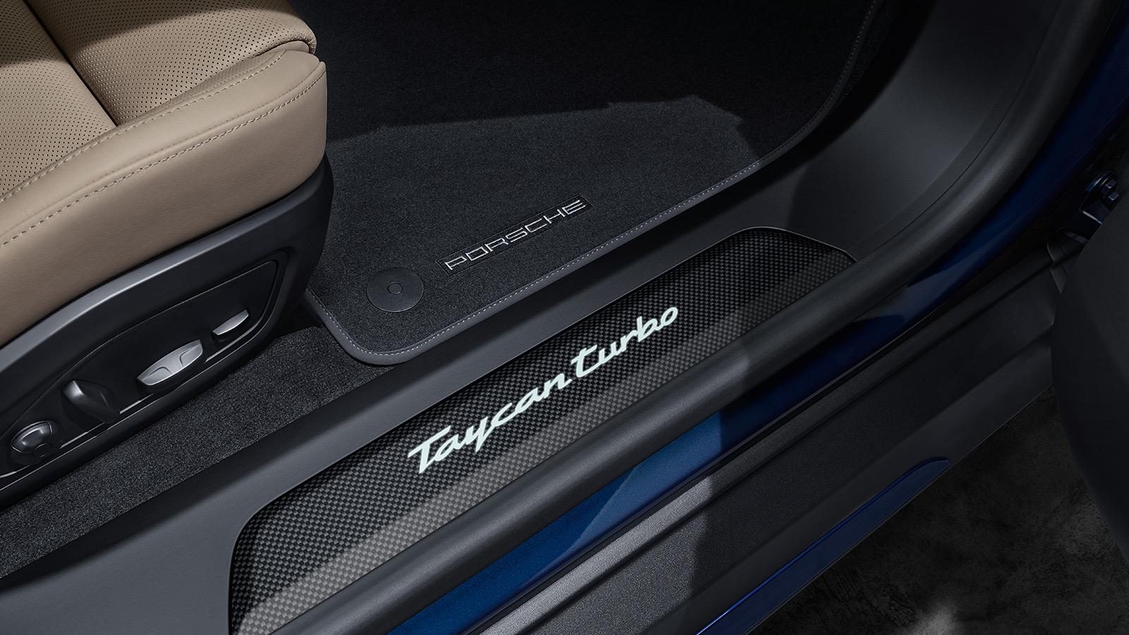 Porsche - Накладки на пороги