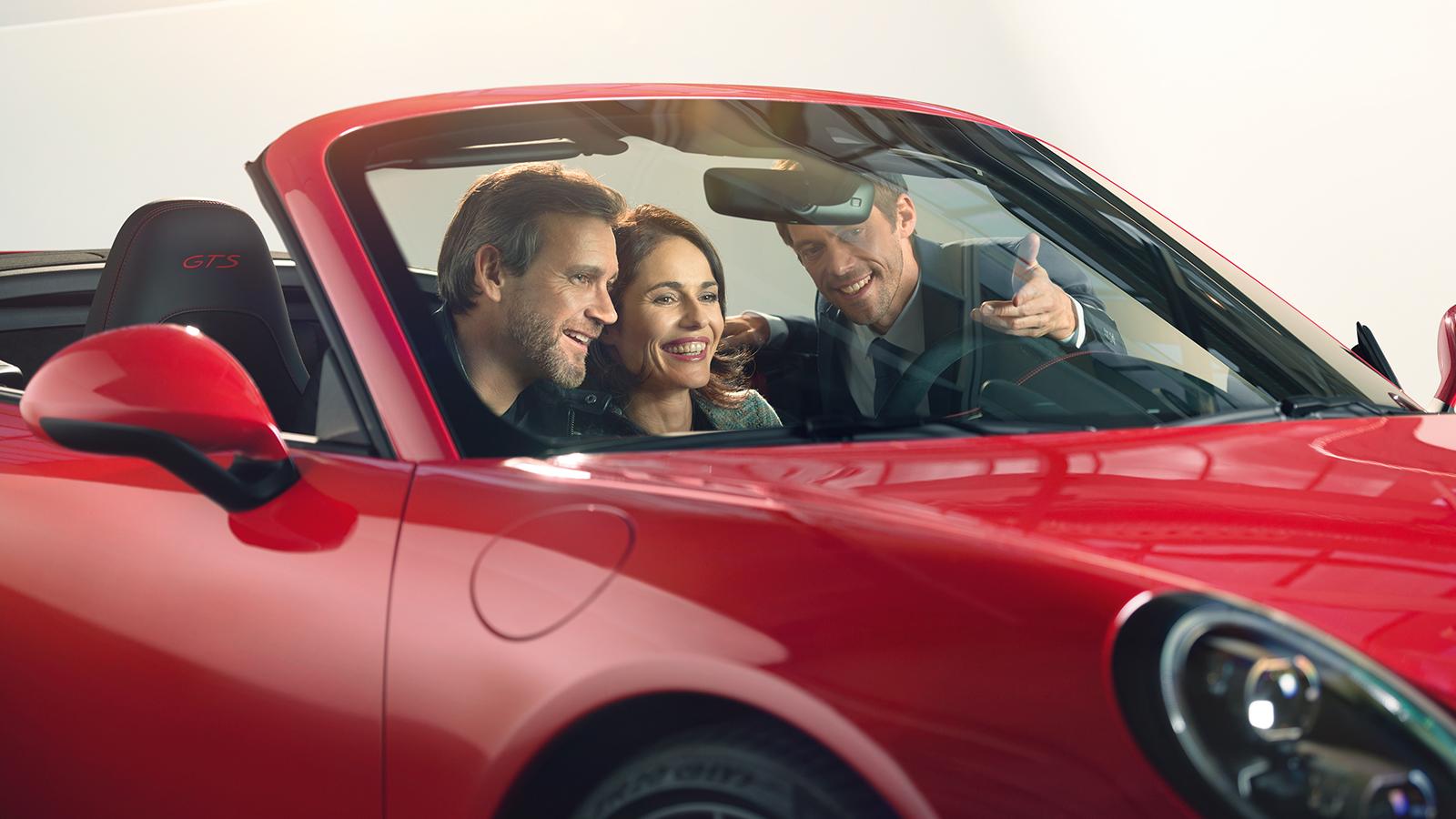 Porsche - Werksabholung. Ein unvergessliches Erlebnis.